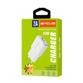 Travel Charger Ancus Supreme Series USB 5V / 2A White
