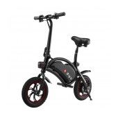 Exhibition Electric Bike DYU D1 Deluxe 10.4Ah Black