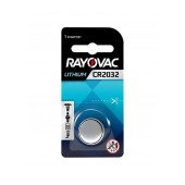 Buttoncell Rayovac Lithium CR2032 3V Pcs. 1