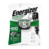Energizer Vision Ultra Rechargable Headlight 400 Lumens with Charging Cable Green