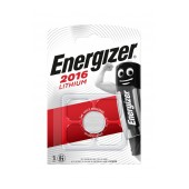 Buttoncell Lithium Energizer CR2016 3V Pcs. 1