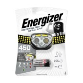 Energizer Vision Ultra Headlight 400 Lumens with 3 ΑΑΑ Batteries Black-Yellow