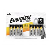 Battery Alkaline Energizer Alkaline Power LR6 size AA 1.5V Pcs. 8