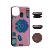 TPU Case Ancus Fashion with Pop Base for Apple iPhone 11 Pro Max Pink