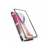 Case Ancus 360 Full Cover Magnetic Metal for Apple iPhone XR Gold
