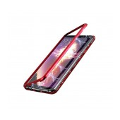 Case Ancus 360 Full Cover Magnetic Metal for Apple iPhone XR Red