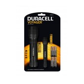 Duracell Voyager Flashlights DUO-E Led Black 70 / 50 Lumens