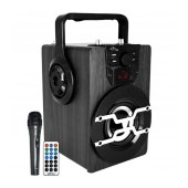 Wireless Bluetooth Speaker Media-Tech Boombox PRO BT MT3159 850W, with Remote Control, Microphone, Micro SD Card, AUX, Radio, MP3 and LED Display