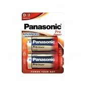 Battery Panasonic Alcaline Pro Power LR20PPG/2BP size D Pcs. 2