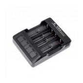 Industrial Type Battery Charger Xtar VP4 USB, 4 Positions with LCD Power Display for Batteries
