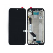 LCD & Digitizer Xiaomi Redmi Note 7 Black with Frame Type A+
