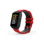 Maxcom Smartwatch FitGo FW15 Square IPX54 Red Silicon Band