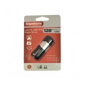USB 2.0 Gigastone Flash Drive U207S 128GB Black Velvet Frame