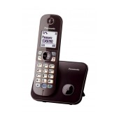 Refurbished (Exhibition) Dect/Gap Panasonic KX-TG6811GRA Mocca Brown with Power Back-Up Operation and ECO mode