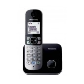 Refurbished (Exhibition) Dect/Gap Panasonic KX-TG6811GRB Black with Power Back-Up Operation and ECO mode