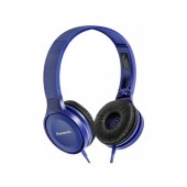 Stereo Headphone Panasonic RP-HF100E-A with Folding Mechanism Blue