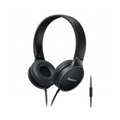 Stereo Headphone Panasonic RP-HF300ME-K with Microphone and Folding Mechanism Black