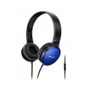 Stereo Headphone Panasonic RP-HF300ME-A with Microphone and Folding Mechanism Blue