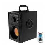 Wireless Speaker Media-Tech Boombox MT3145_V2 600W, with Remote Control & Woofer Black