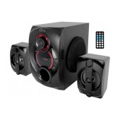 Wireless 3 Speaker Bluetooth Set Media-Tech Voltron 2.1 BT MT3330 900W, with Remote Controler Black