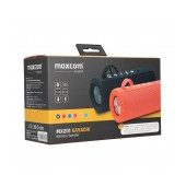 Wireless Speaker Bluetooth Maxcom Kavachi MX201 TWS 2x5W Black, IP66, Playing time: up to 10h, Float on Water