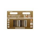 Rechargeable Battery Panasonic Eneloop Tones Earth BK-4MCCE/8UE 750 mAh size AAA Ni-MH 1.2V Τεμ. 8