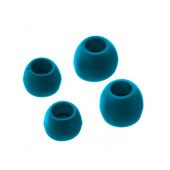 Spare Earbuds Ancus for Bluetooth and Hands Free Blue 4 pcs