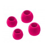 Spare Earbuds Ancus for Bluetooth and Hands Free Pink 4 pcs