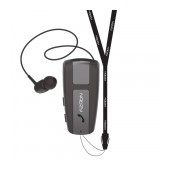 Bluetooth Hands Free Noozy Roller BH68 V.5.0 with Vibration Alert and Neck Strap Multi Pairing Black