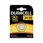 Buttoncell Lithium Duracell CR2016 Pcs. 1