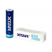 Rechargable Ιndustrial Τype Βattery Xtar 18650 Li-ion 3.7V 2600mAh 2A Protected