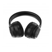Wireless Stereo Headphone Hoco W28 Journey Black with 250mAh, Microphone and AUX
