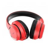 Wireless Stereo Headphone Hoco W28 Journey Red with 250mAh, Microphone and AUX