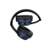 Wireless Stereo Headphone Hoco W28 Journey Blue with 250mAh, Microphone and AUX