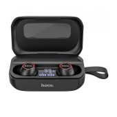 True Wireless Bluetooth Hoco ES37 Treasure song V.5.0 Black with Charging Base