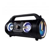 Wireless Bluetooth Speaker Media-Tech U-TUBE BT MT3163 650W,FM radio, Micro SD Card, AUX, MP3, USB Black
