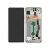 Original LCD & Digitizer Samsung SM-G770F Galaxy S10 Lite White GH82-21672B