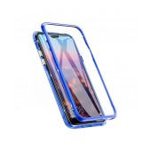 Case Ancus 360 Full Cover Magnetic Metal for Xiaomi Redmi Note 8 Pro Blue