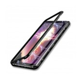 Case Ancus 360 Full Cover Magnetic Metal for Samsung SM-G985F Galaxy S20+ Μαύρο