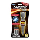 Torch Energizer Vision HD Focus 400 Lumens with LED light and Metal Body Silver