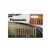 Battery Alkaline Panasonic Alkaline Power LR03 size AAA 1.5V Pcs, 20