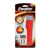 Torch Energizer Magnetic Handheld 50 Lumens with 2 AA batteries. Red