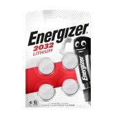 Buttoncell Lithium Energizer CR2032 Pcs. 4