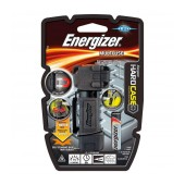 Torch Energizer Hardcase Multiuse Compact Mini Light 75 Lumens with 1 AA Battery and Drop Durable. Black