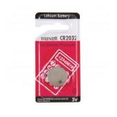 Buttoncell Maxell CR2032 3V Pcs. 1