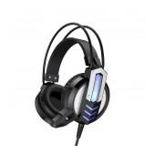 Headphones Stereo Borofone BO100 Fun Black with Microphone and 3 Plugs