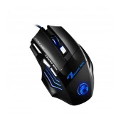 Wired Mouse iMICE X7 Gaming 7D with 7 Buttons, 2400 DPI and LED Lightning. Black