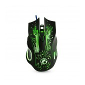 Wired Mouse iMICE X9 Gaming 7D with 7 Buttons, 2400 DPI and LED Lightning. Black