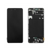 Original LCD & Digitizer Samsung SM-A715F Galaxy A71 Blue GH82-22152A
