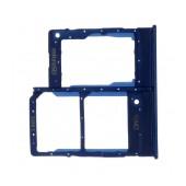Nano Sim Tray Samsung SM-A207F/DSGalaxy A20 Blue Original GH98-44377C